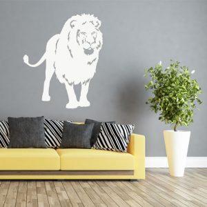מדבקת קיר בעלי חיים לסלון