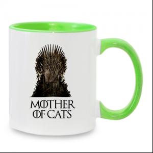 ספל מעוצב אישית לאוהבי חתולים ומשחקי הכס