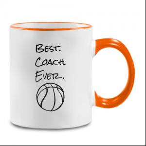 מתנה מתוקה למאמן כדורסל - ספל מעוצב עם הקדשה