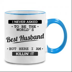 עיצוב על ספל קפה מתנה לבעל