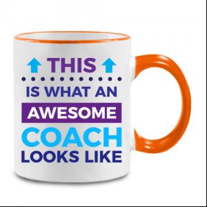מתנה מקורית למאמן/ת ספל עם כיתוב בעיצוב אישי