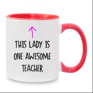 מתנה מקורית למורה - ספל מיוחד בעיצוב אישי